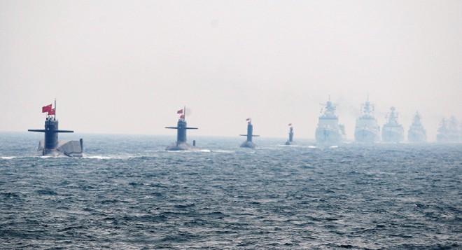 Армада китайского флота