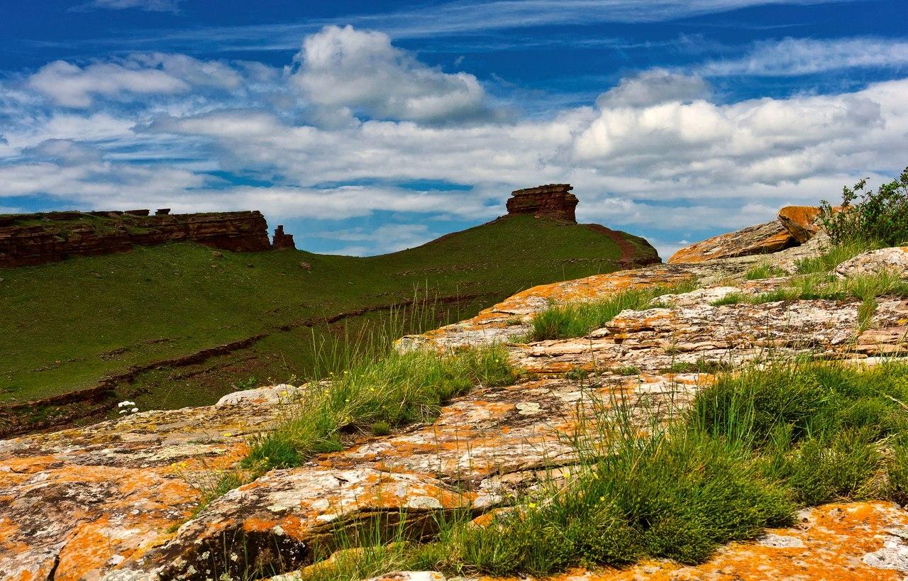 Республика Хакасия, горная гряда Сундуки