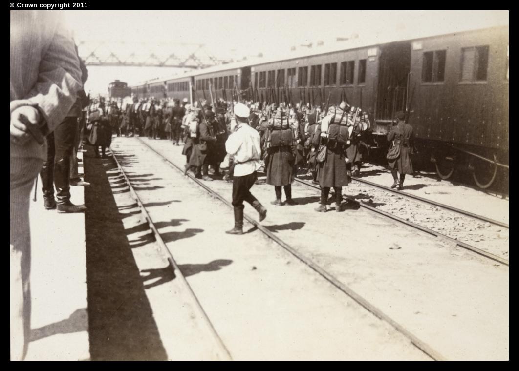 Боксерское восстание. Союзные войска в Тяньцзине. 1900