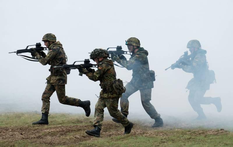 Немецкие солдаты «сдержат Россию»?