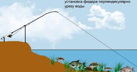 особенности фидерной ловли на течении