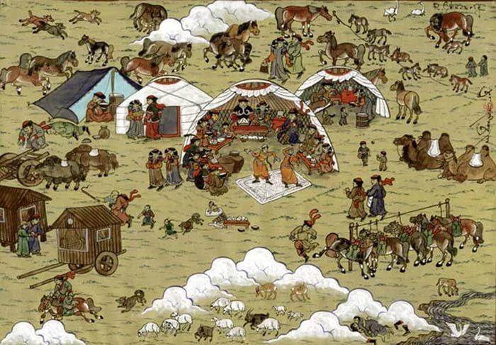 Железо и монголы.