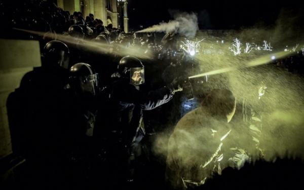 ВВенгрии вспыхнули беспорядки, возможно, спровоцированные Соросом