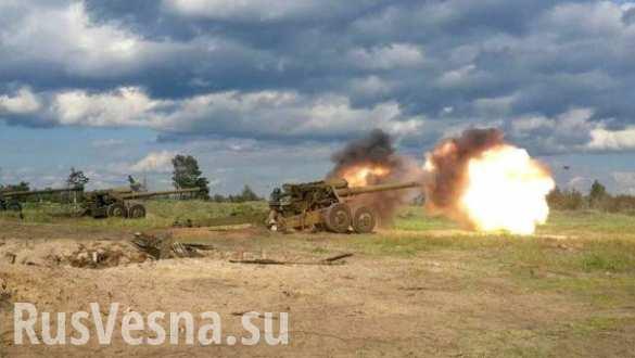 Резкое обострение на Донбассе: бои на нескольких направлениях