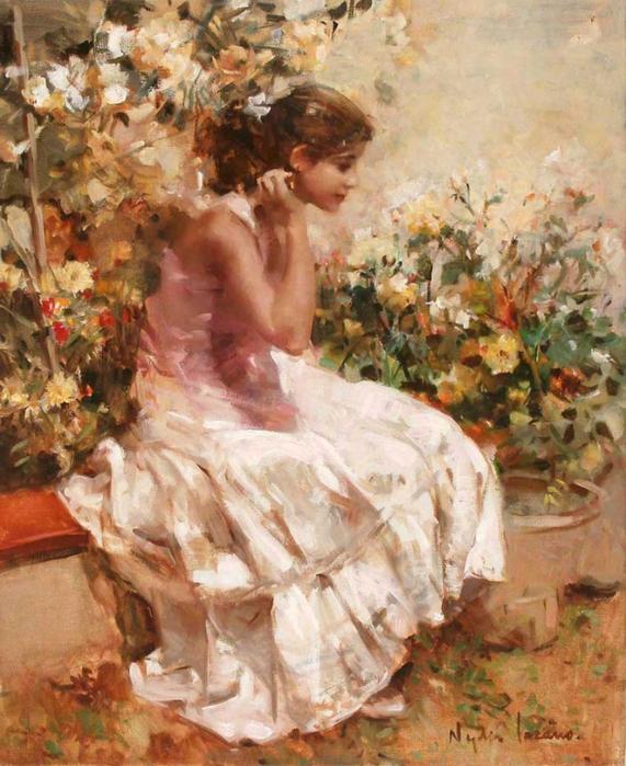 Очаровательные женские образы в творчестве Нади Лозано