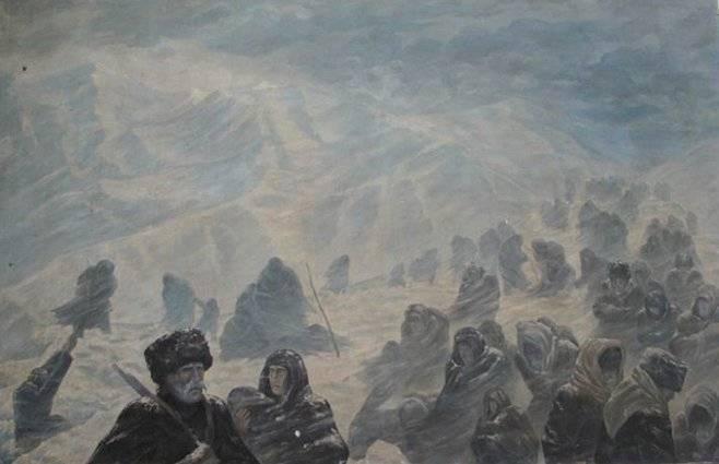 Холодное южноосетинское лето 1920-го