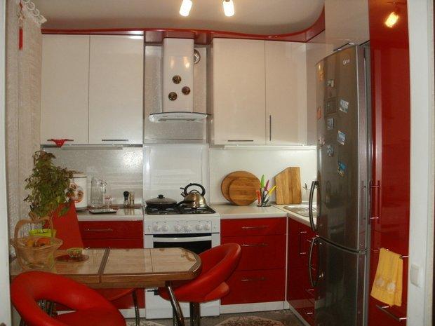 Кухня: сочная красная для мужчины, который любит готовить