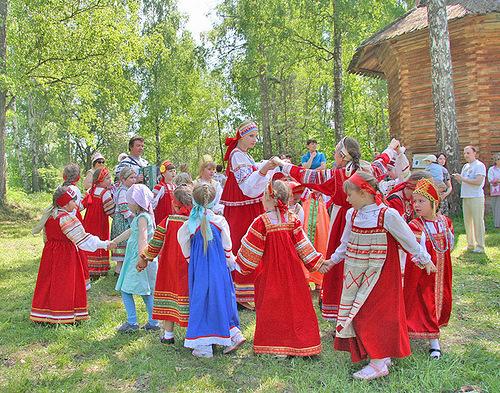 Во что играли славянские дети