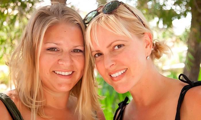 Две сестры остались без мужей...