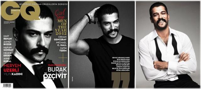 Бурак Озчивит (хранитель покоев Балибей из «Великолепного века») – мужчина года 2012 по версии турецкого GQ.