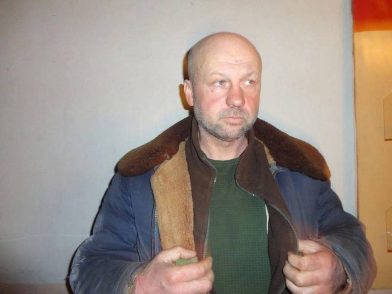 Боец ВСУ попал в плен: кадры допроса
