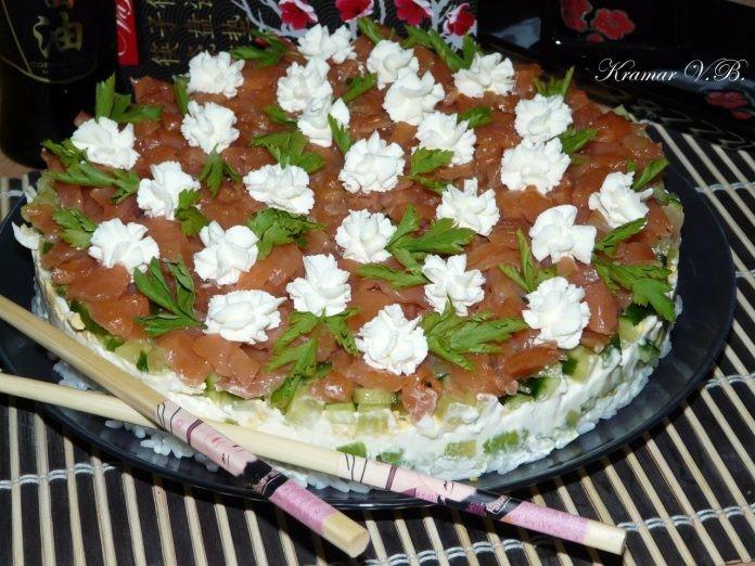 Шикарный закусочный торт «Су…