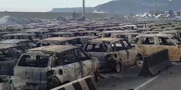 В Италии пожар уничтожил сотни новых Maserati