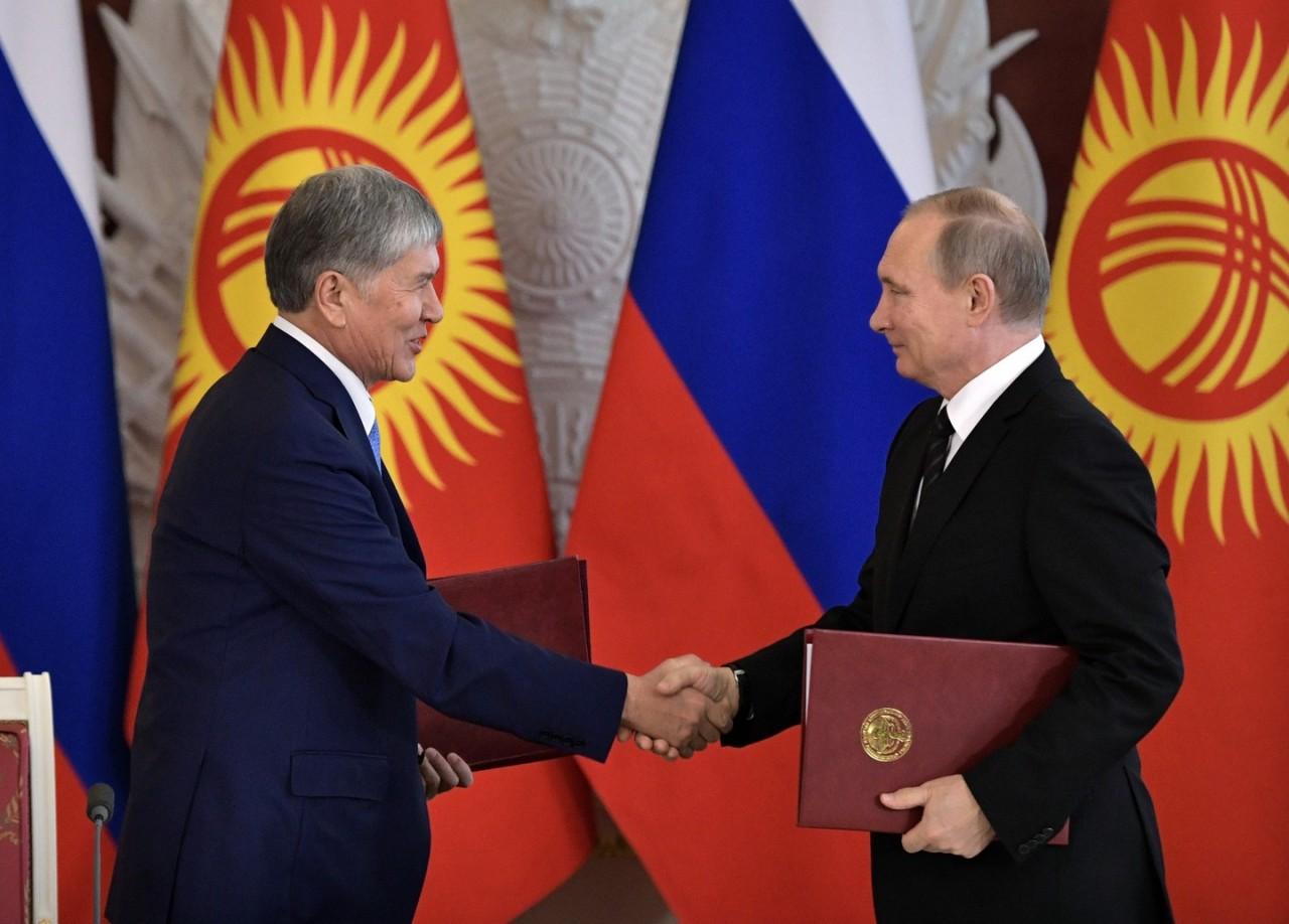 Дружба навек: Россия простила Киргизии долг в 240 миллионов долларов