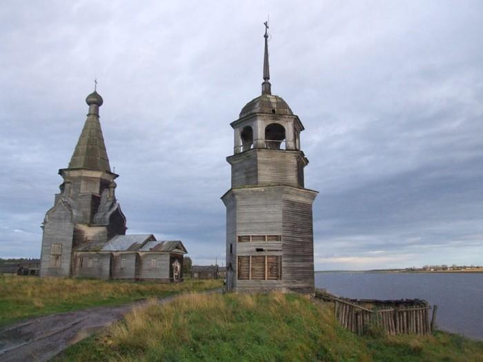 На русском Севере можно увидеть невероятной красоты церкви.