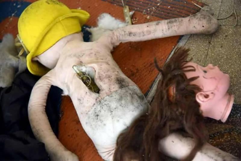 «Умеренные» оставили в Алеппо заминированные куклы