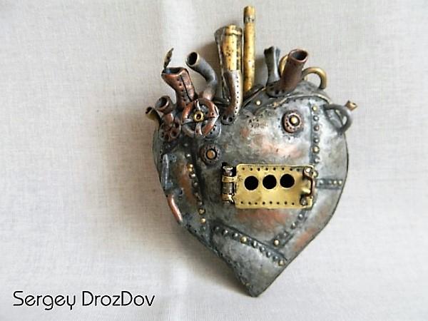 Сердце из металла своими руками 26