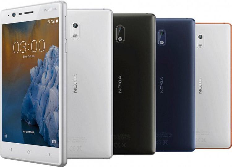 Анонсированы смартфоны Nokia 6, Nokia 5, Nokia 3 и телефон Nokia 3310