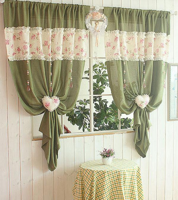 Как обновить шторы своими руками фото
