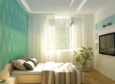Как сделать красивый и стильный дизайн спальни в хрущевке: 5 правил