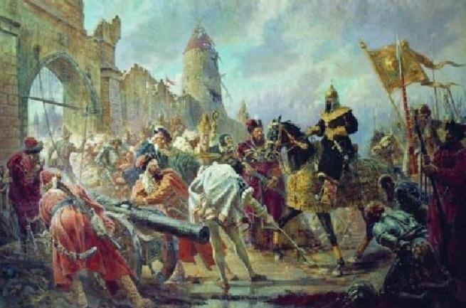 Как в Европе узнали о русских
