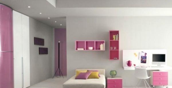 Интерьер детской комнаты для подростка - девочки