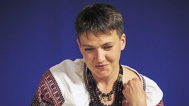 """""""-Вы там будете петь?- Нет,вы там будете слушать"""": Савченко предложили поехать на """"Евровидение"""""""