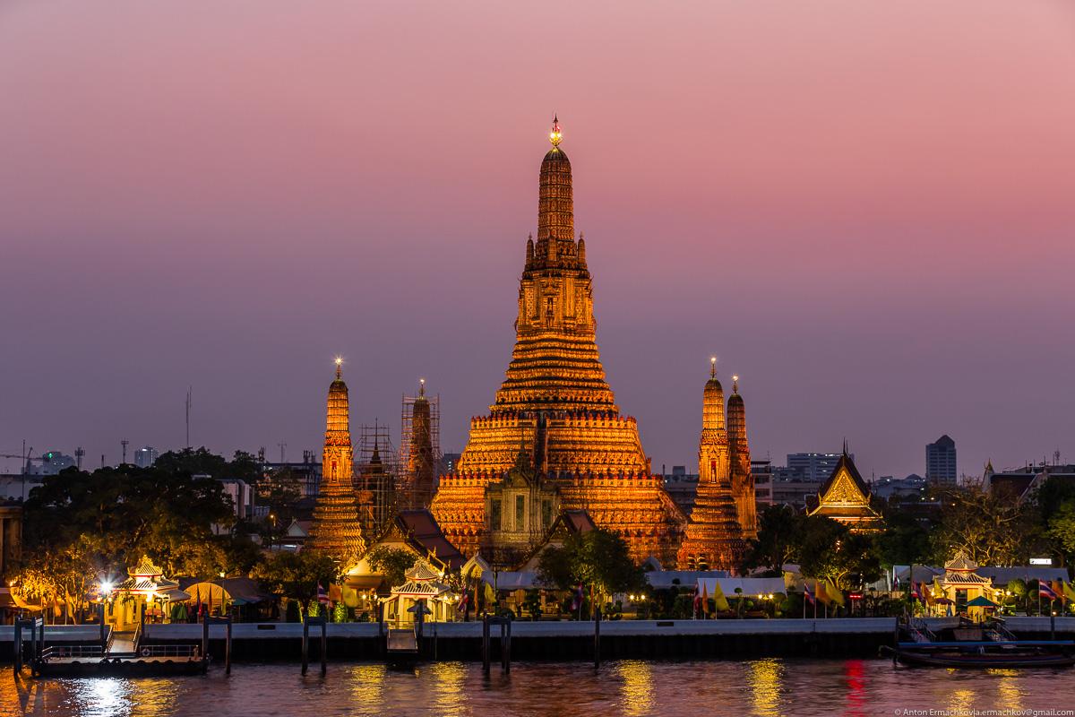 По пляжам Андаманского моря. Бангкок. История одного заката