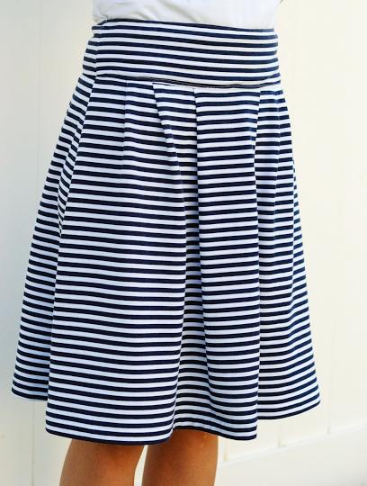 Удобная трикотажная юбка