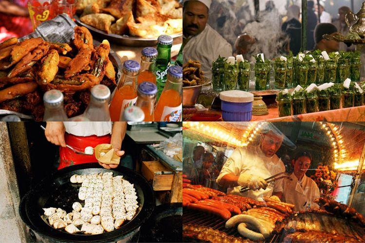 Национальные блюда разных стран мира.