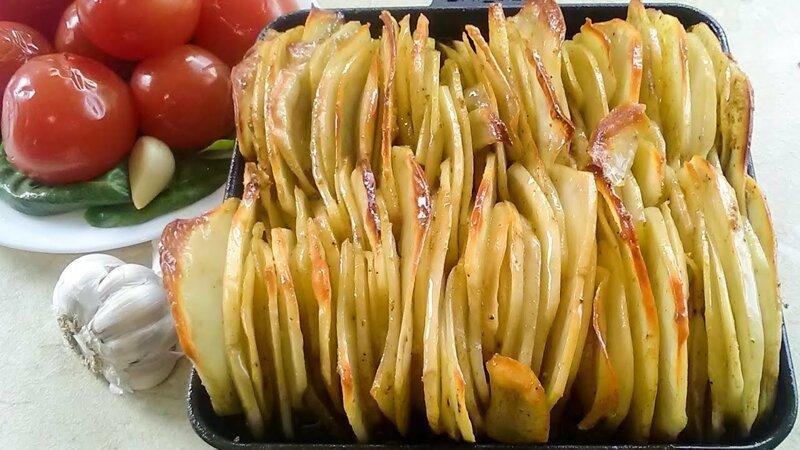 Рецепт картофеля в духовке по-армянски видео, еда, рецепт, ужин