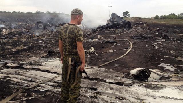 В районе крушения малазийского Boeing под Донбассом находились украинские средства ПВО