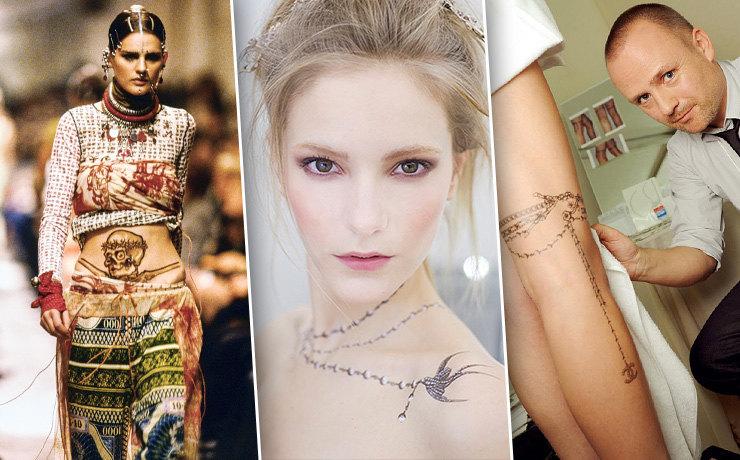 Мода и татуировки