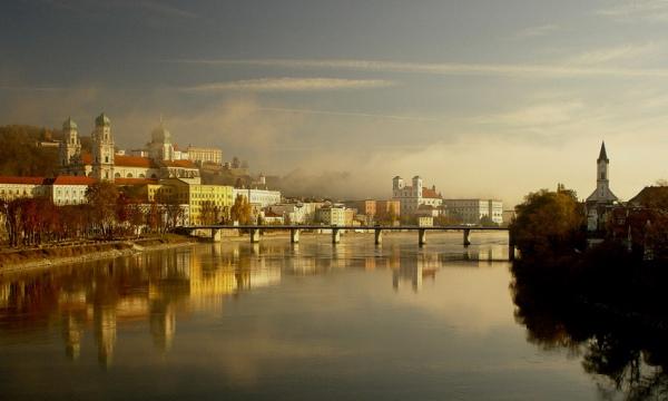 Пассау. 10 самых красивых городов Германии. Интересные города Германии, которые обязательно стоит посетить. Фото с сайта NewPix.ru