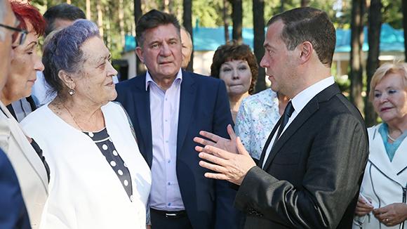 Медведев о пенсиях в 2017 году |