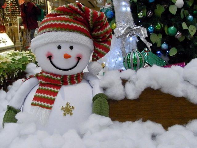Снеговика из ваты сделаем сами