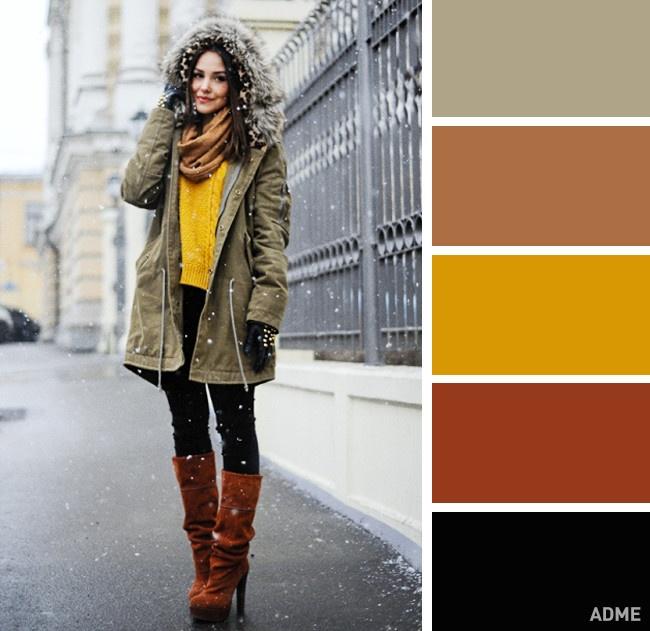 В холодное время года особенно хочется выглядеть ярко и стильно...