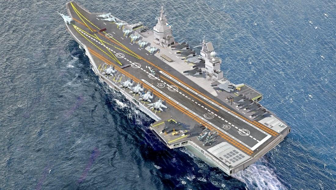 Флот России: без «Кузи» будет сложно построить авианосцы «Шторм»