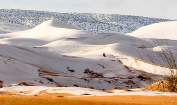Необычное явление: пустыня С…