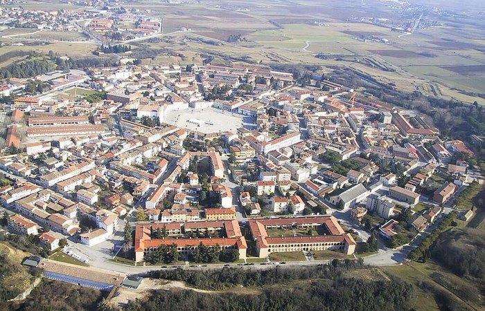 Город Пальманова - идеальная крепость-звезда, которой так и не удалось повоевать