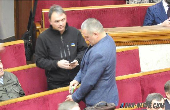 """В Раде произвела фурор водка """"Московская"""" с акцизом ДНР"""