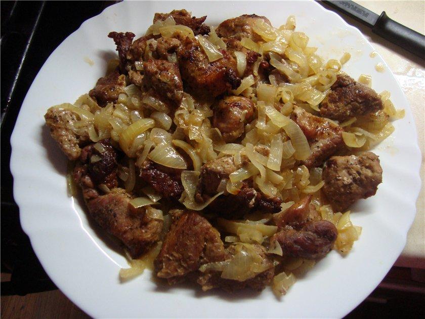 Как приготовить куриные сердечки и печень вкусно и быстро рецепты