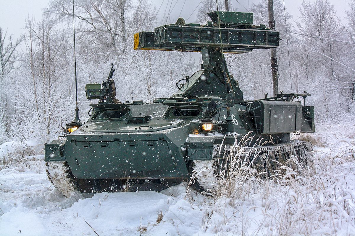 Новые средства ПВО в 106-й гвардейской воздушно-десантной Тульской дивизии