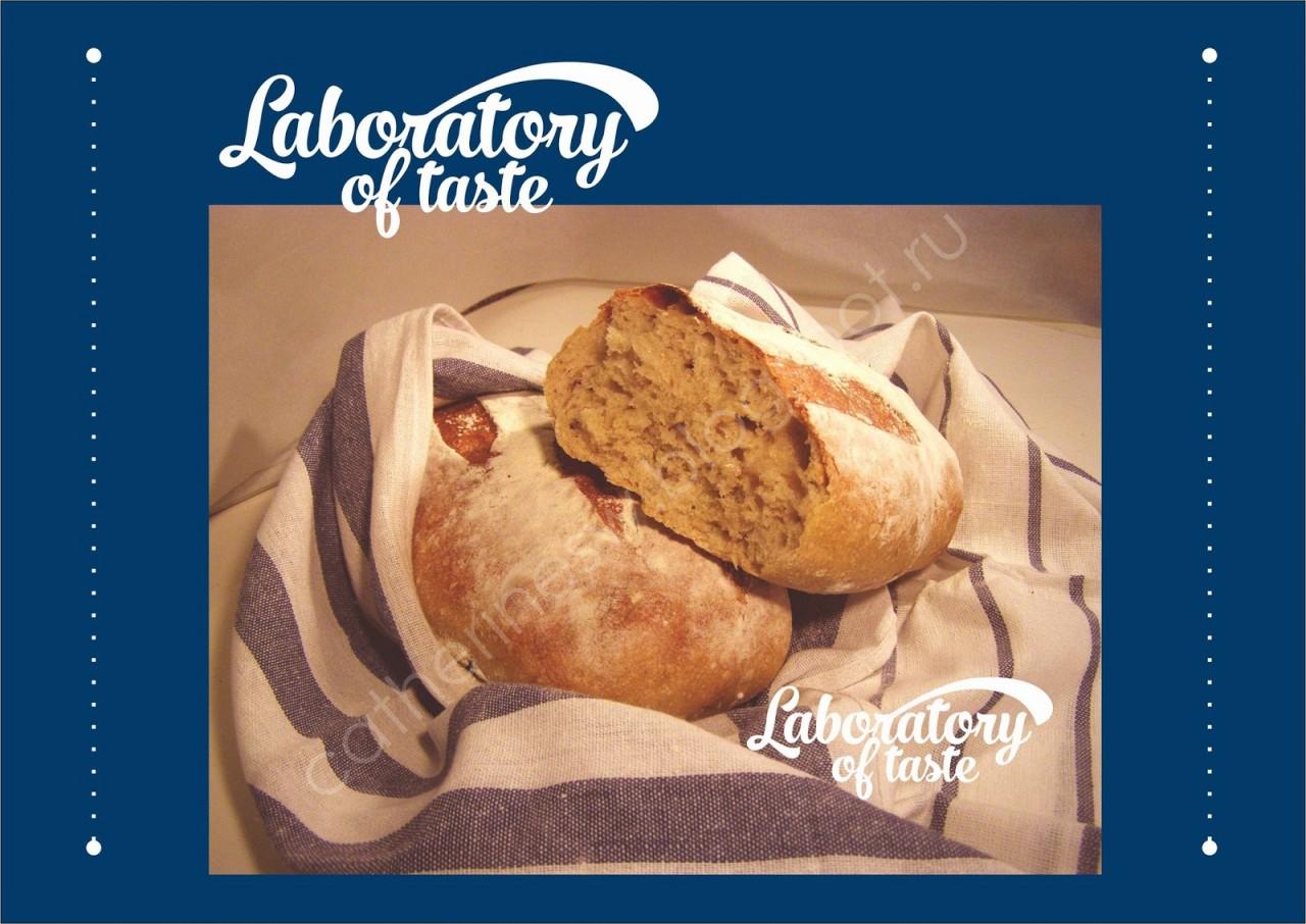 Картофельный хлеб с чесноком и прованскими травами