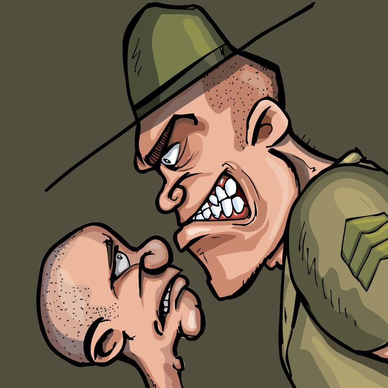 Офицер спросил солдата, почему тот пошёл вармию. Новобранец решил ответить честно…