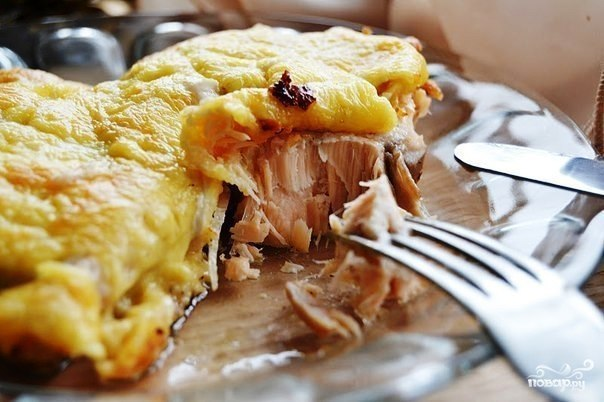 Горбуша под сыром - это замечательное блюдо
