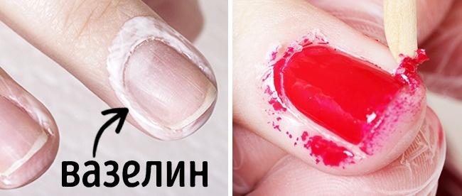 7 хитростей для великолепного маникюра и красивых ногтей. Удобно, правда?
