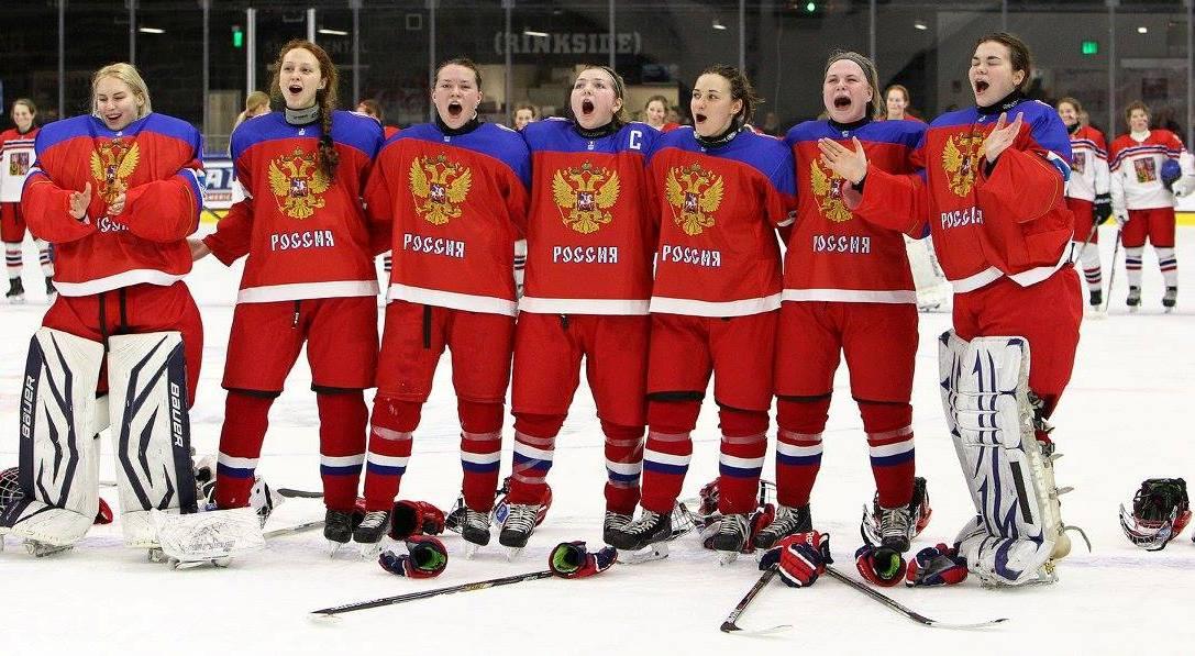 Российские хоккеистки застав…