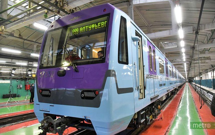 В московском метро в течение пяти лет запустят беспилотные поезда