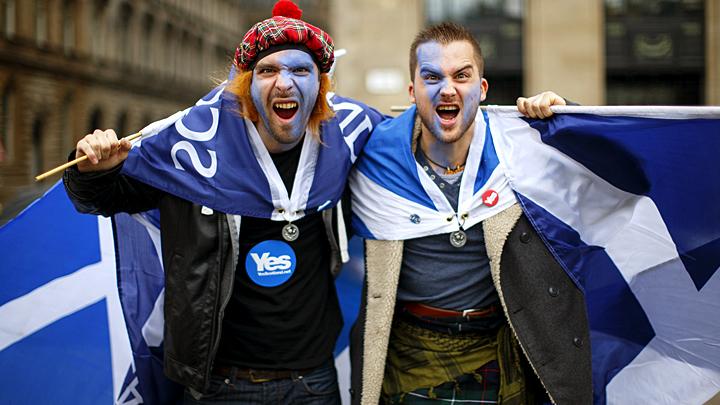Шотландия подала заявку на референдум о независимости